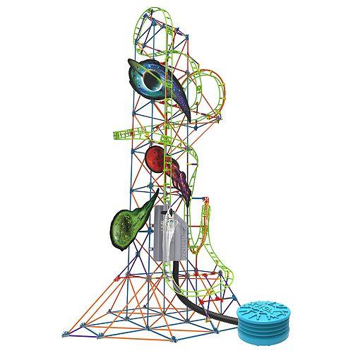 K'NEX Thrill Rides Lunar Launch Roller Coaster Building Set