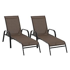 SONOMA Goods for Life™ Coronado Folding Patio Chaise Lounge Chair 2-piece Set