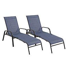 SONOMA Goods for Life™ Coronado Folding Patio Chaise Lounge Chair 2-piece Set