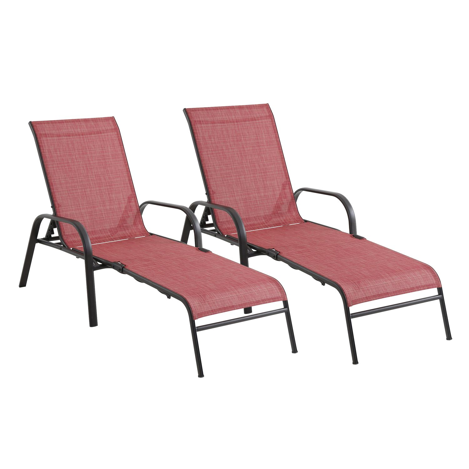 SONOMA Goods For Life™ Coronado Folding Patio Chaise Lounge Chair 2 Piece  Set