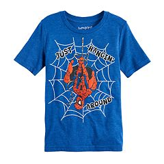 Boys 4-10 Jumping Beans® Marvel Spider-Man 'Just Hanging Around' Graphic Tee
