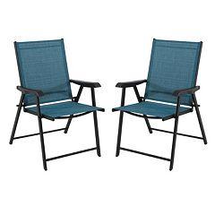 SONOMA Goods for Life™ Coronado Patio Folding Chair 2 pc Set