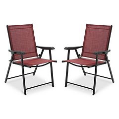 SONOMA Goods for Life™ Coronado Patio Folding Chair 2-piece Set