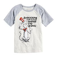 Boys 4-10 Jumping Beans® Dr. Seuss The Cat in the Hat Raglan Tee