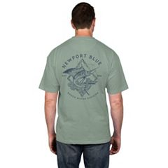 Men's Newport Blue 'Rough Water Division' Tee