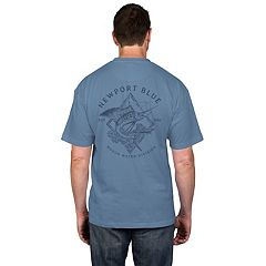 Big & Tall Newport Blue 'Rough Water Division' Tee
