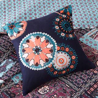 Josie by Natori 5-piece Woodblock Patchwork Reversible Quilt Set
