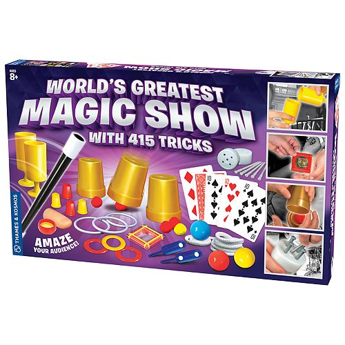 Thames & Kosmos World's Greatest Magic Show with 415 Tricks