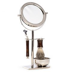 Bey-Berk Shave Set with Mirror