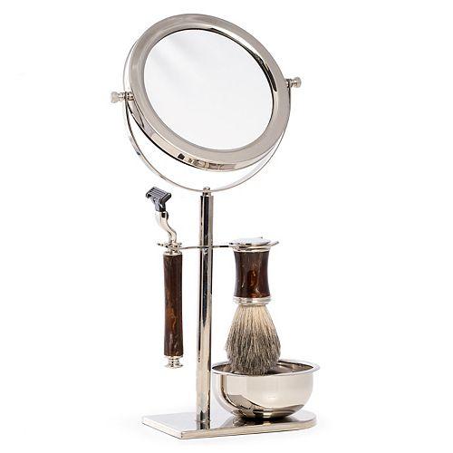 Bey-Berk Shave Set with Mirror