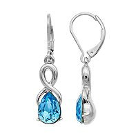 Dana Buchman Twisted Teardrop Earrings
