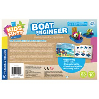Thames & Kosmos Kids First Boat Engineer STEM Kit & Storybook