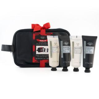Tri-Coastal Design Men's Milgau Black Travel Kit
