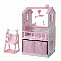 Teamson Kids All in One Baby Doll Nursery Station