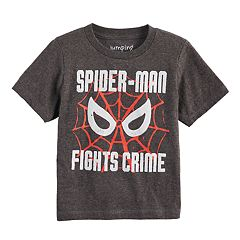 Toddler Boy Jumping Beans® Marvel Spider-Man 'Fights Crime' Graphic Tee