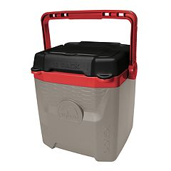 Igloo Quantum 12-qt. Cooler - Black & Red