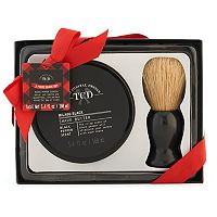 Tri-Coastal Design Men's Milgau Black Shave Butter & Brush Set