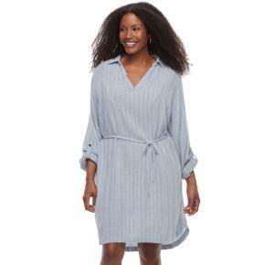 Plus Size SONOMA Goods for Life? Shirtdress
