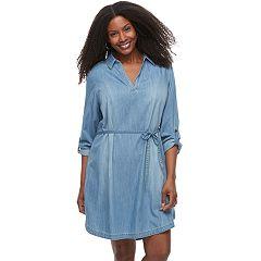 Plus Size SONOMA Goods for Life™ Shirtdress