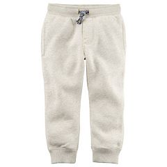 Boys 4-8 Carter's Fleece Pull On Jogger Pants