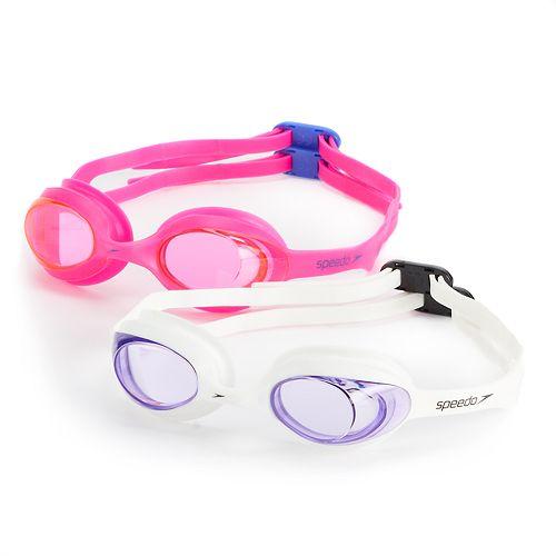 Kids Speedo 2-pk. Solid Swim Goggles