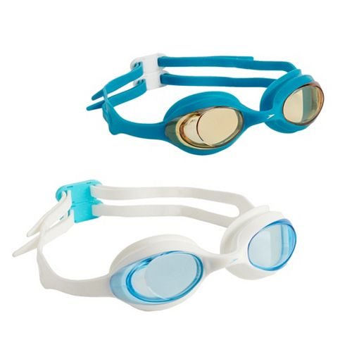 Kids Speedo 2-pack Solid Swim Goggles