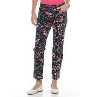Women's Croft & Barrow® Straight-Leg Ankle Jeans
