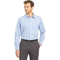 Big & Tall Van Heusen Traveler Stretch Classic-Fit No-Iron Button-Down Shirt