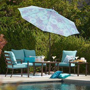 SONOMA Goods for Life? Burbank Patio Arm Chair & End Table 3-piece Set