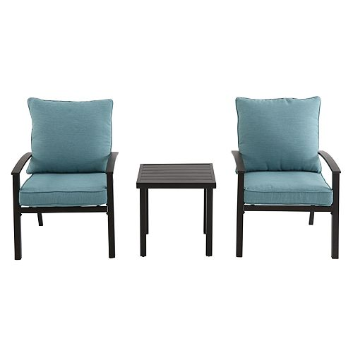 SONOMA Goods for Life™ Burbank Patio Arm Chair & End Table 3-piece Set