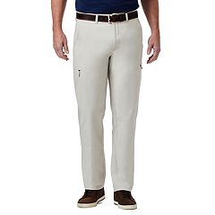 Men's Haggar PRO Elements Classic-Fit Flat-Front Utility Pants