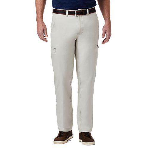 Men's Haggar PRO Elements Classic-Fit Flat-Front Utility Pants