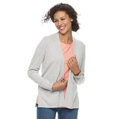 Women's Croft & Barrow® Essential Open Front Cardigan