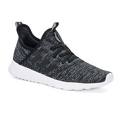 3a54c036db51 adidas Cloudfoam Pure Women s Sneakers. Black White ...