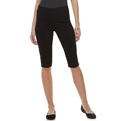Petite Dana Buchman Pull-On Skimmer Shorts