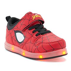 Marvel Spider-Man Toddler Boys' Light Up Sneakers