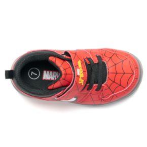 Marvel Spider-Man Toddler Boys' Light Up Sneakers