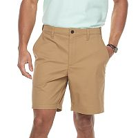 Men's Croft & Barrow® Classic-Fit Easy-Care Stretch Flex-Waist Flat-Front Shorts