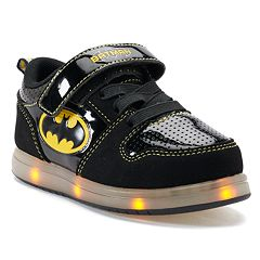 DC Comics Batman Toddler Boys' Light Up Sneakers