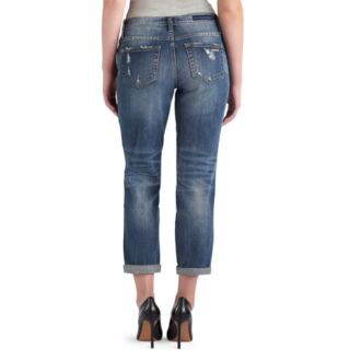 Women's Rock & Republic® Indee Ripped Midrise Boyfriend Jeans