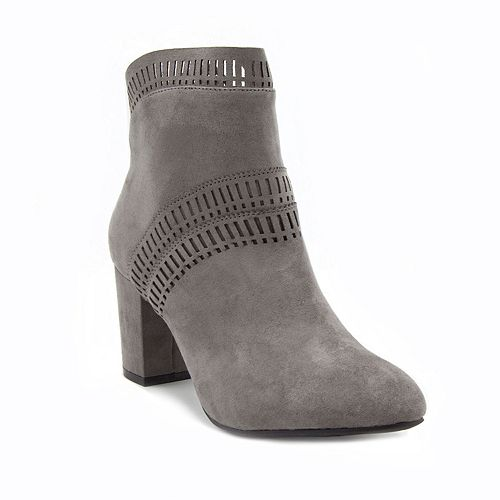 London Fog Iverna Women's High Heel Ankle Boots