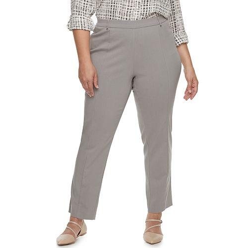 Plus Size Napa Valley Pull-On Millenium Pants