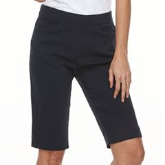 Petite Napa Valley Millennium Pull-On Skimmer Shorts