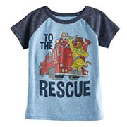 Toddler Boy Jumping Beans® Scooby-Doo 'To The Rescue' Raglan Graphic Tee