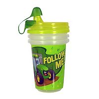 John Deere 3-pk. Take & Toss 10-oz. Sippy Cups