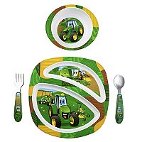 John Deere 4-pc. Feeding Set