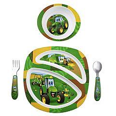 John Deere 4 pc Feeding Set