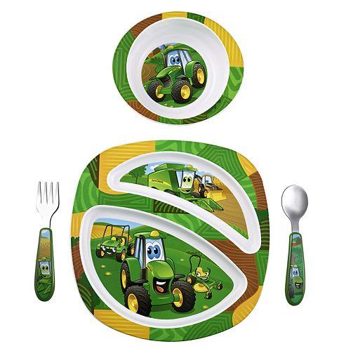 John Deere 4-pc. Feeding Set