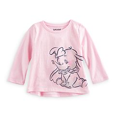 Disney's Dumbo Baby Girl Glitter Graphic Tee by Jumping Beans®