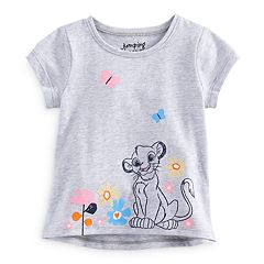 Disney's The Lion King Baby Girl Simba Short Sleeve Graphic Tee by Jumping Beans®